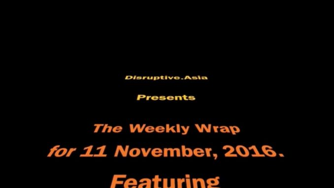 Weekly Wrap 1