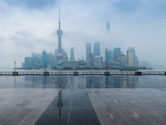 shanghai cloud fog