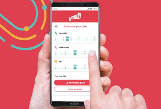 A very different digital telco called Yoodo just launched in Malaysia
