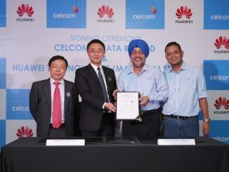 Signing Ceremony between Huawei and Celcom Axiata on Digitized Operations Services
