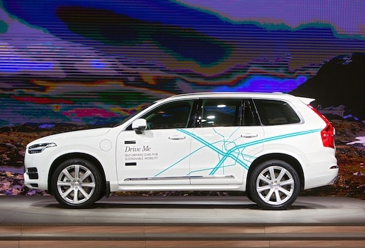 Volvo Partners With Baidu For Self Driving Taxi Technology Nyoooz