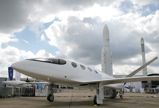 Electric planes – a huge battery with some plane painted on it