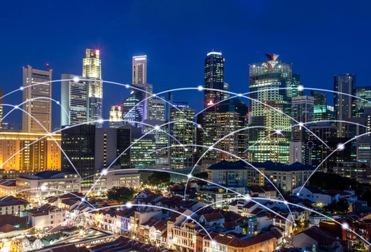 Singapore approaches 90% 4G availability