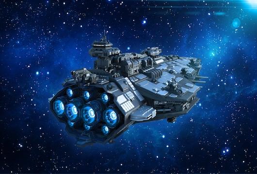 Friday Futures: launching starships, liquid mirrors, thin gold