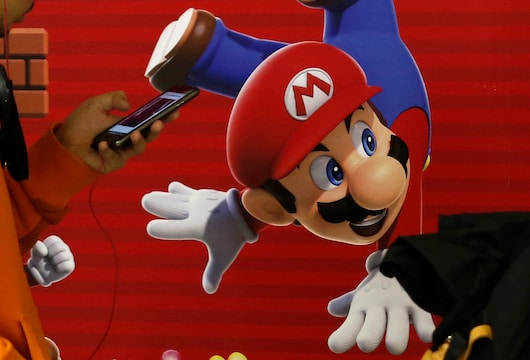 Nintendo's Mario in the driving seat in race for mobile hit