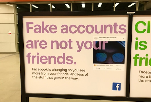 Facebook removes multiple fake accounts from Indonesia