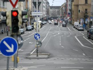 Germany empty streets