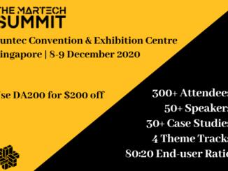 Martech Summit Singapore