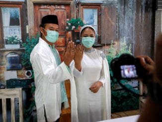 Indonesian wedding vows live stream