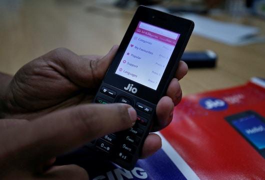 JioPhone app