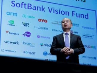 SoftBank loss Vision Fund