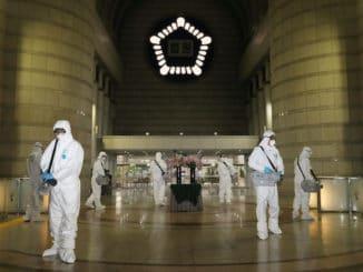 South Korea virus tracking