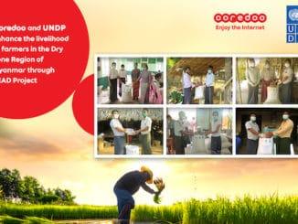 Ooredoo Myanmar farmers