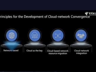 Cloud network convergence China Telecom