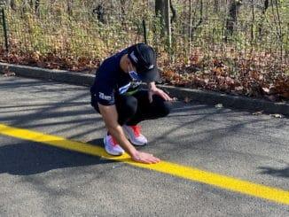 blind man runner AI