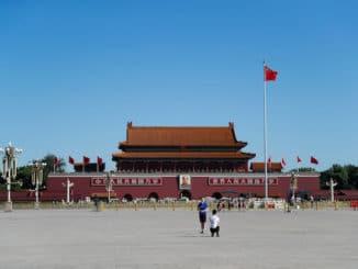 Tiananmen Square Zoom