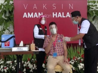 Indonesia influencers vaccines