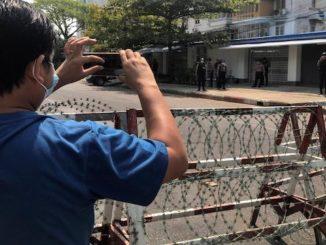 Myanmar livestreaming Facebok Live