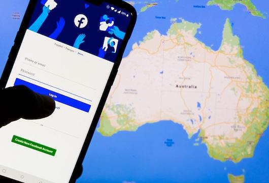 Facebook refriended Australia