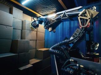 Stretch warehouse robot