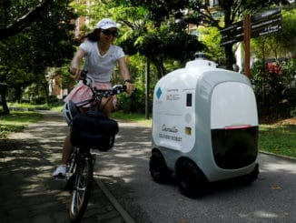 home delivery robots