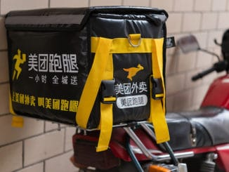 Meituan home delivery antitrust
