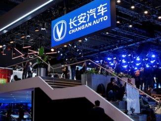 Changan EV listing