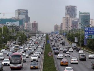vehicle data China