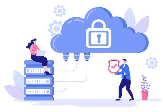 P2P private clouds
