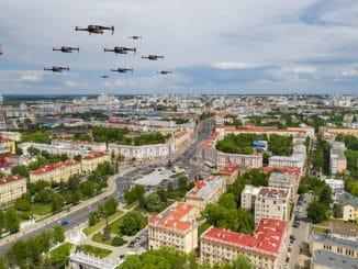 Drones disruption damage