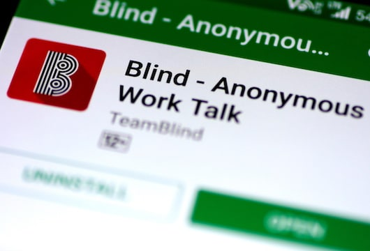 South Korean employees air their grievances with messaging app Blind
