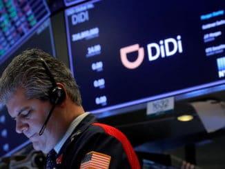US listings Didi
