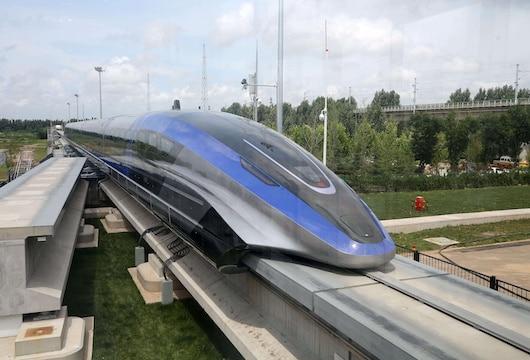 maglev train China
