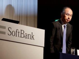 SoftBank China investing