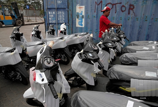 Indonesia launches pilot project to convert motorcycles to electric power