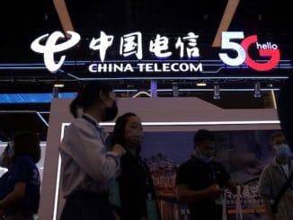 China Telecom shares Shanghai
