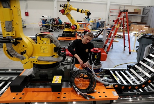 Investment surge in EV a market bonanza for factory equipment makers