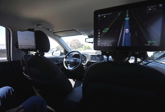 Self-driving startups using special features to test driverless cars: humans