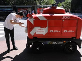 delivery robots China