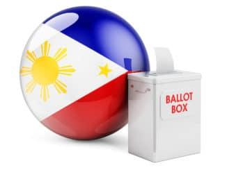 Philippine elections voting