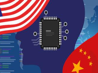 China battle AI USA