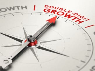 double-digit telco growth